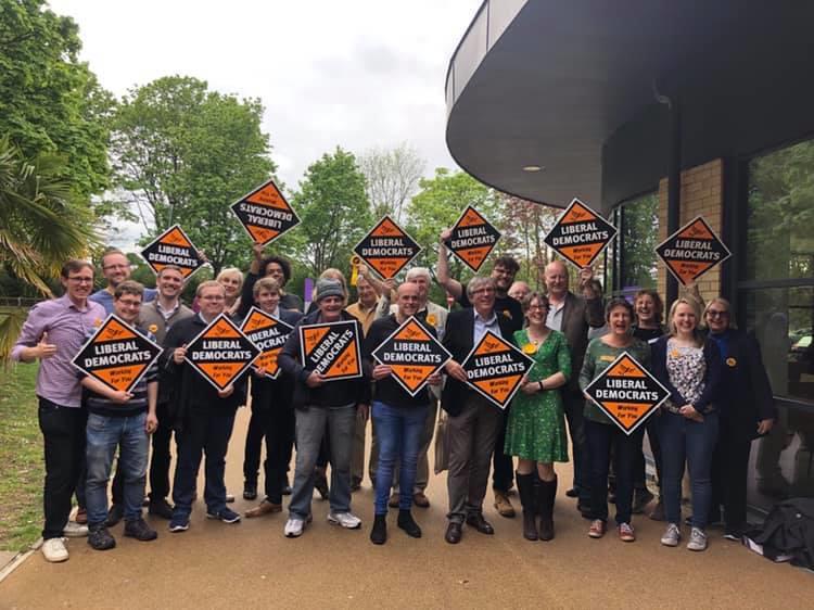 North Hertfordshire Liberal Democrat group photo